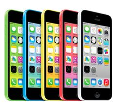 The Colorful iPhone 5C