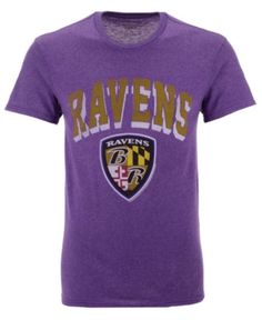 """Baltimore Ravens Youth NFL /""""Intact/"""" 3 in 1 T-Shirt Combo Set"""