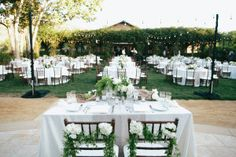 Bringing the beauty of France to Southern California is always a good move in our books. In honor of the Bride's roots, Brooke Keegan Weddings and Events crafted a day infused with details from home. From grape vines draping the chuppah to