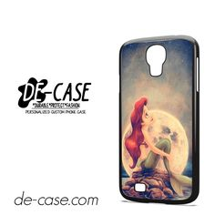 Ariel Under The Night Sky For Samsung Galaxy S4 Case Phone Case Gift Present YO