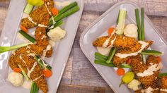 Everything Chicken Fingers with Tahini Dipper Recipe