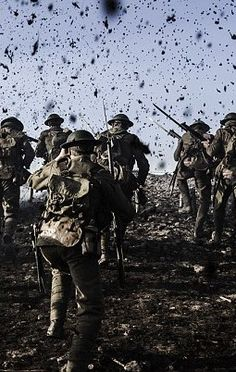 Over the top Commonwealth, World War One, First World, War Tattoo, Ww1 Soldiers, War Image, War Dogs, Total War, Lest We Forget
