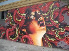 masonic ave and haight st, san francisco street art by lango