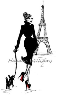 """A Stroll in Paris"" - Artist: Hayden Williams"