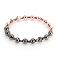 Space Collection Blackpearl&RoseGold  #mensfashion#jewelry#bracelet#naturalgemstone#fashion#style#ootd#daily#gift#luxury