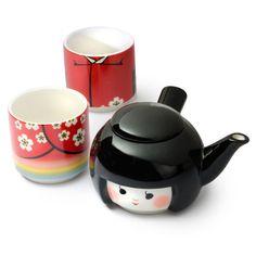 Kokeshi Tea for Two