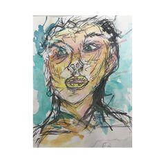 Face watercolor