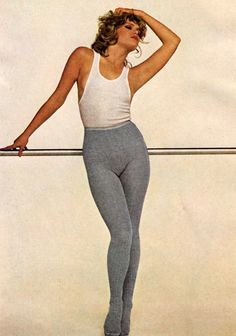 Trimfit, Mademoiselle magazine, September 1980. This is what I aspired to throughout my teens.