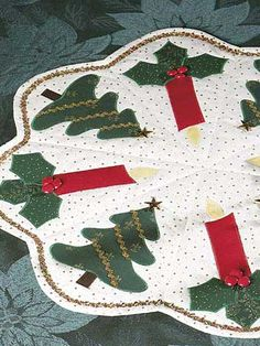 Special Occasion Quilting - Christmas Decoration Quilting Patterns - Candlelight Christmas