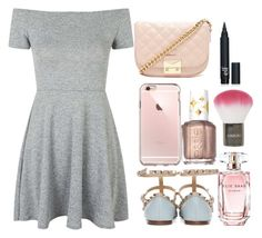 """Untitled #150"" by breonah on Polyvore featuring Topshop, Essie, Forever 21 and Elie Saab"
