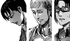 """""""My heart breaks for just about every single character in this series, but none more so than these 3. They have seen the deaths of countless friends & comrades, because we know that the last ones standing, have seen everyone else fall."""""""