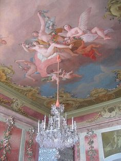 Life Design - a-l-ancien-regime: Rundale Palace by Angel Aesthetic, Pink Aesthetic, Aesthetic Grunge, Gouts Et Couleurs, Decoration Shabby, Baroque Architecture, Princess Aesthetic, Renaissance Art, Marie Antoinette