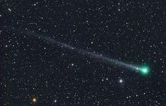 david messias: Inferno verde: cometa de cor estranha passará sobr...