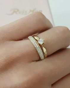 Thick Wedding Bands, Wedding Rings Simple, Gold Wedding Rings, Bridal Rings, Cute Rings, Unique Rings, Beautiful Rings, Jewelry Rings, Jewelery