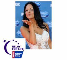 American Idol Alum Supports American Cancer Society