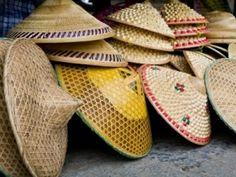 Venta de sombreros en Vietnam
