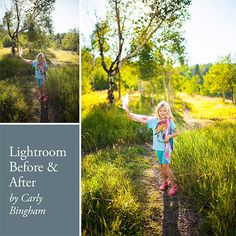 Before and After: Clean Edit in Lightroom