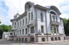 Особняк И.А.Миндовского (1903, арх.Л.Н.Кекушев, Поварская, 44)