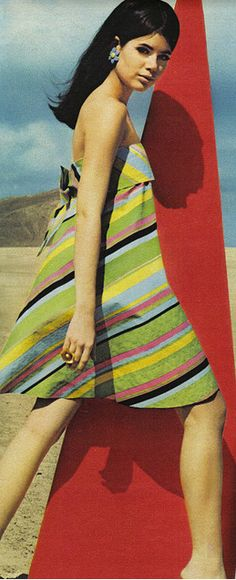 Colleen Corby in Seventeen Magazine, 1967                              …