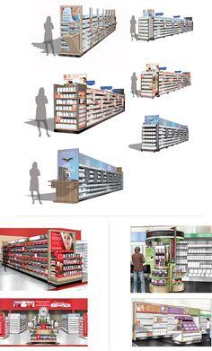 Pfizer Vitamin aisle's in Walmart, Target and CVS.