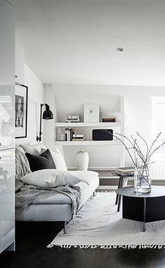 white home design idea