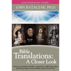 Bible Translations by John Rataczak---check out my #book #review