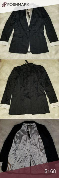 Elie Tahari Navy Blue Blazer NWT  New With Tags Elie Tahari Jackets & Coats Blazers