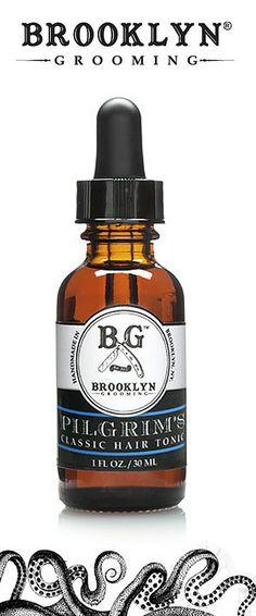 ~Brooklyn Grooming, Pilgrim's Classic, Organic Hair Tonic For Men | The House of Beccaria