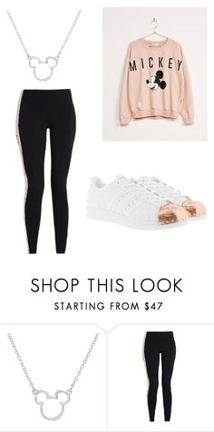 """""""Disney love"""" by cynthiambanefo ❤ liked on Polyvore featuring Disney and adidas Originals"""
