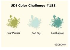 Love 2 Stamp: UDI Color Challenge 188
