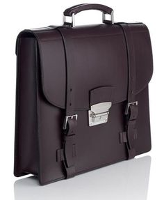 I need a briefcase. Briefcase For Men, Leather Briefcase, Cowhide Leather, Leather Men, Leather Jackets, Pink Leather, Alfred Dunhill, Satchel Backpack, Classic Handbags