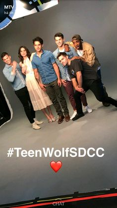 Teen Wolf SDCC2017 ♡♡♡