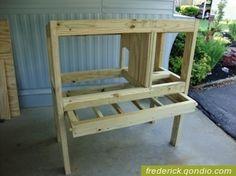 DIY Rabbit Hutch Plans - Bing Images