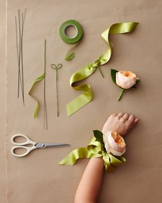 Mother-of-the-Bride Corsage - Martha Stewart Weddings DIY Weddings