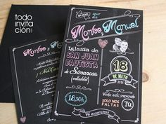 partes de matrimonio artesanales - Buscar con Google Ideas Para Fiestas, Chalk Art, Tricks, Origami, Wedding Invitations, Google, Relationships, Ideas Party, Wedding Ideas