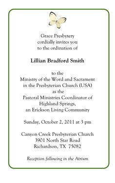 Pastor Ordination Invitation Letter Related Keywords Suggestions