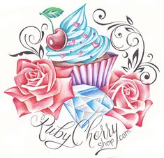 Cupcake logo by *RubyMoonDesign on deviantART