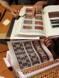Traditional Latvian belts – Patterns and stories