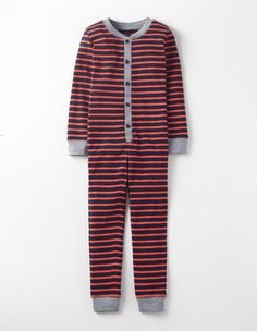 Storm Stripe Cosy Sleep All-in-one Boden