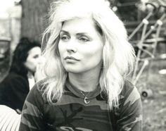 Blondie lead singer Debbie Harry takes center stage in one of the striking Warhol snaps. Blondie Debbie Harry, Debbie Harry Style, Debbie Harry Hair, Nostalgia, A Saucerful Of Secrets, Rock & Pop, Mick Jagger, Elizabeth Taylor, Andy Warhol