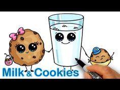 Cute Food Drawings, Cute Kawaii Drawings, Kawaii Art, Doodle Drawings, Doodle Art, Drawing Cartoon Characters, Cartoon Drawings, Cartoon Illustrations, Draw So Cute Food