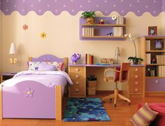 In the decoration of the nursery lot may have into account details and furniture to add, but as long takes it the decision of ringtones wh. Room Corner, Creative Decor, Kid Beds, Kidsroom, My Room, My Dream Home, Toddler Bed, Sweet Home, Nursery