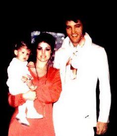 Lisa Marie Priscilla & Elvis Presley