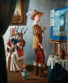Air of Inspiration  2010  -    Michael Cheval