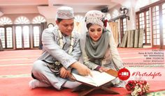 Put Allah first, and we will never be last :)   -Aana & Solih Wedding    #walimatulursy #pernikahan #resepsi #wedding #photography #weddingphotography #portodefoto