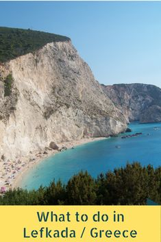 Top things to do in the greek island of Lefkada