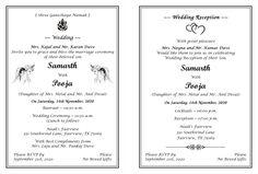 12 best hindu wedding card wordings for