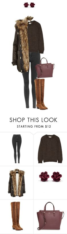 """""""You put a quite a show !"""" by azzra ❤ liked on Polyvore featuring Étoile Isabel Marant, River Island, Chloé, Kate Spade and blizzard"""