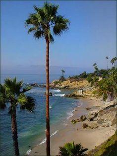 Laguna Beach, California...one of the places I've lived:)