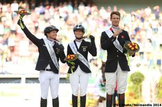 Eventing Jumping - Individual Podium - August 31th - Copyright : PSV Photo